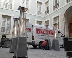 Alquiler estufas de exterior